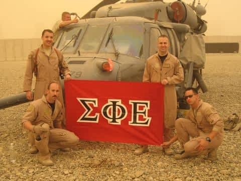 Military Middle East Sigma Phi Epsilon