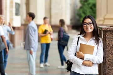 student how learnt to build confidence in herself